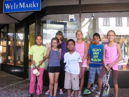 Jonglieren für den fairen Handel