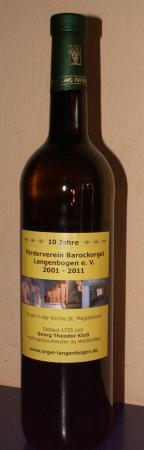 Jubiläumswein