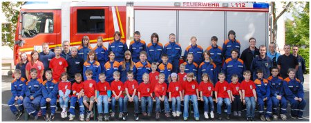 Jugendfeuerwehr 2012 Oschatz