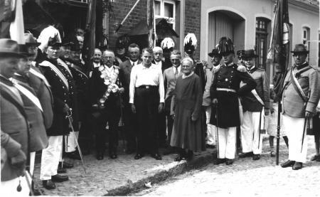 Schützenkönig August Kähler 1932