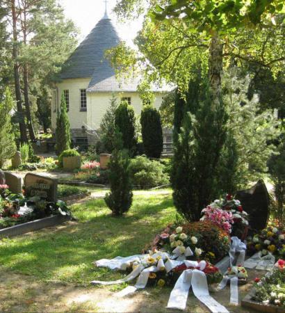 Kapelle auf dem Waldfriedhof