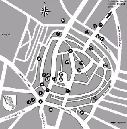 Altstadtbummel Karte