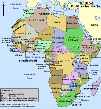 ihre karte von afrika:
