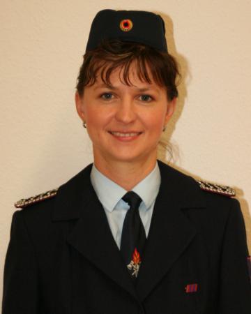 Löschmeisterin Katja Hoffmann