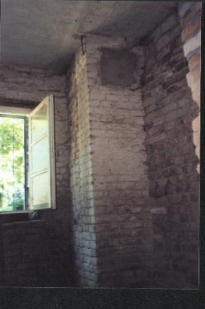 Schornstein im Kellergeschoss