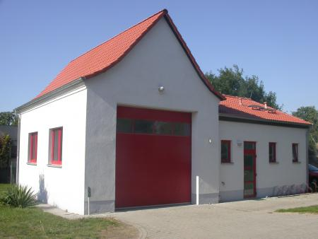Feuerwehrgerätehaus Ortsteil Kieselwitz