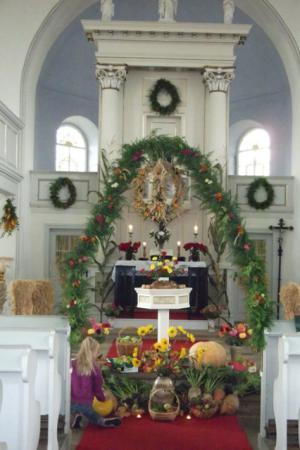 Kirche Ga Erntedank