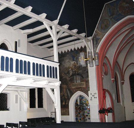 Innenansicht Kirche Ströhen