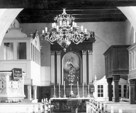Kirche Schorrentin 1895