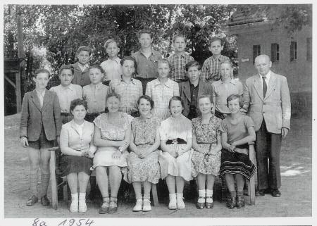 Klasse 8a 1954