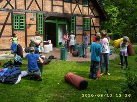 Klassenfahrt der 6F1 nach Wiligrad am Schweriner See (1)