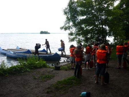 Klassenfahrt der 6F1 nach Wiligrad am Schweriner See (2)