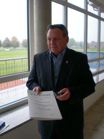 Auszeichnung von Klaus-Dieter Knauf