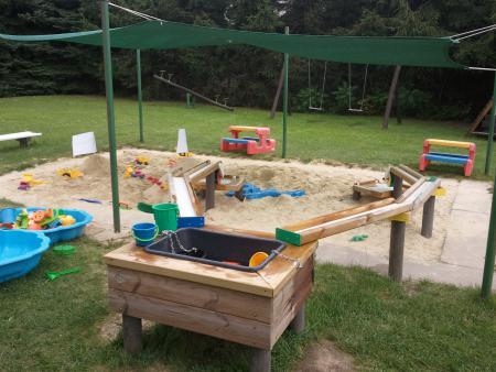 Ball- und Wasserspielanlage