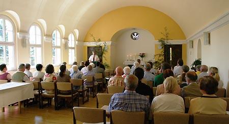 Innenraum der Kirche Kleinkühnau
