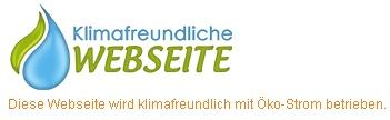 Klimafreundliche Webseite