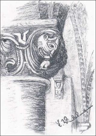 Kloster - Kapitell Krypta