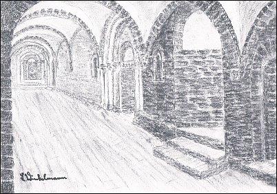 Kloster - Kreuzgang Ostflügel