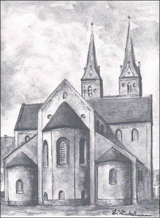 Kloster - Ostansicht
