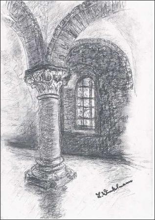 Kloster - Sommerrefektorium
