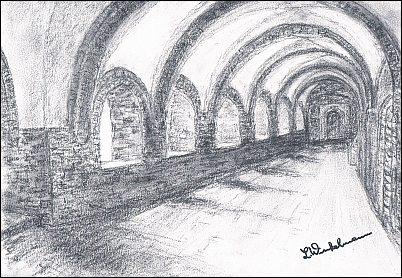 Kloster - Südflügel des Kreuzganges