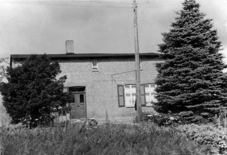 Haus auf dem Gilkenwerder um 1960