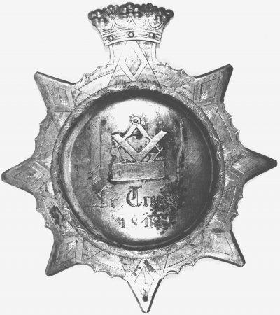 Königschußorden des Tischlers Jacob Friedrich Theodor Trense von 1842