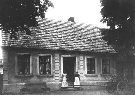 Haus Kohfeldt in der Chausseestraße um 1920