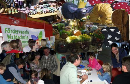 Collage Kürbismarkt 2010