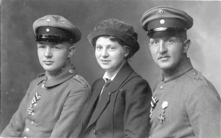 August, Anne-Marie und Christian Kühl