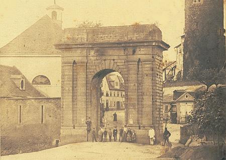 Landtor um 1860