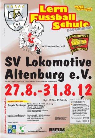 Lern Fussball Schule SV Lok ABG