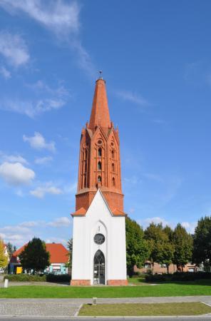 Kirchturm in Letschin