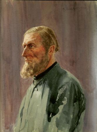 Hans Maria Lindloff Studie 1901