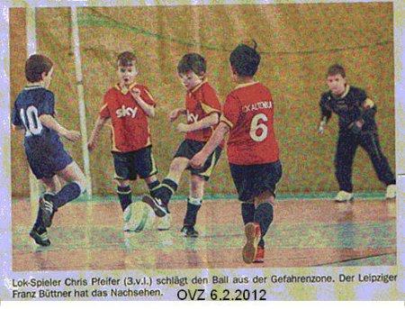 Lok gewinnen Fussball-Turnier im Nachwuchs Bild