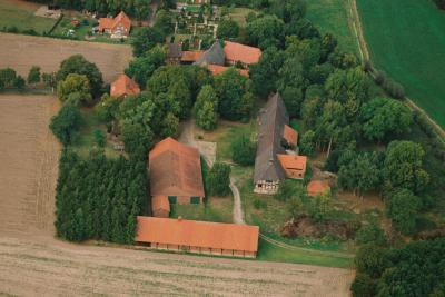 Luftbild Kloster Schinna