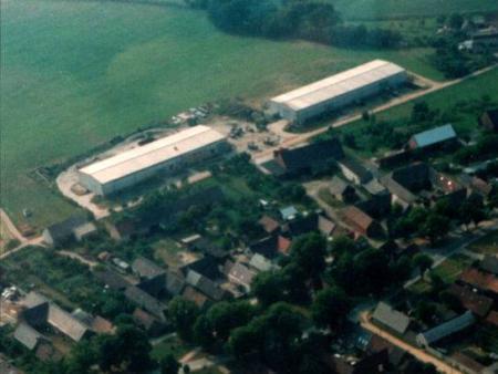 Getreidelagerhalle Drößig 2001