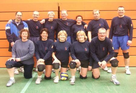 Mannschaftsfoto Volleyball