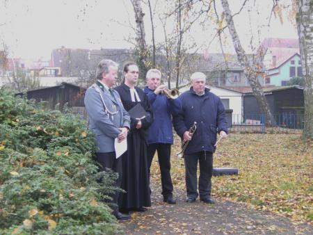 Wiedereinweihung des Denkmals am 19.11.2006 (2)