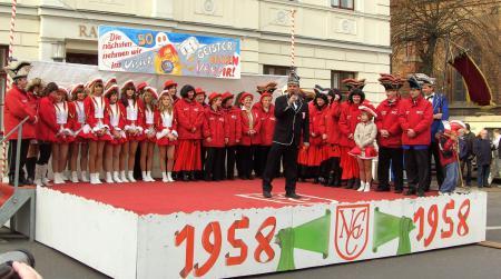 Eröffnung der Karneval-Saison am 11.11.2008