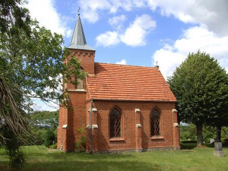 Die Friedhofskapelle in Schlakendorf