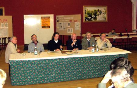 Podiumdiskussion im Bürgerhaus