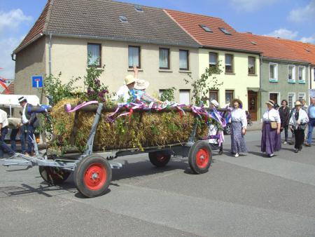 Der Heimatverein beteiligt sich am Umzug zum Stadtfest am 23. Mai 2010
