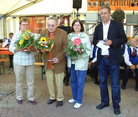 Auszeichnung zum Stadtfest 2011