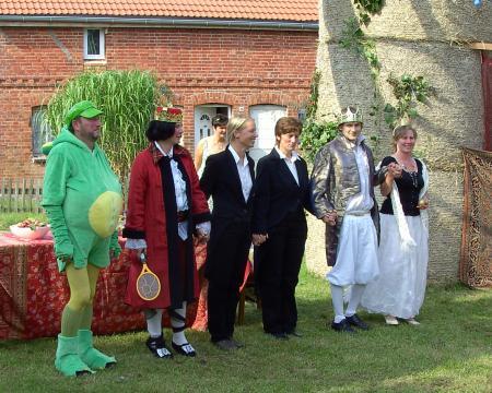Märchenaufführung Dorffest Warsow