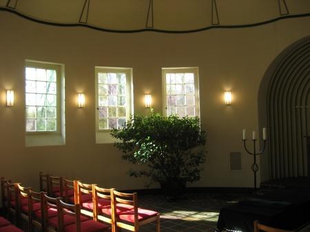 Deckengewölbe nach der Restaurierung