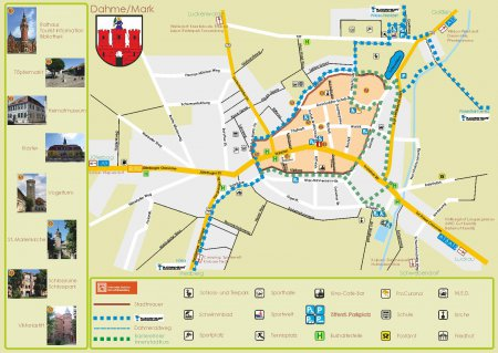 Stadtplan Dahme/Mark