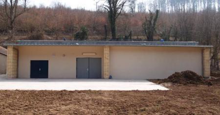 Neues Wasserwerksgebäude