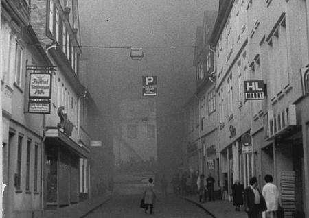 Neugasse am 18.Oktober 1972 / Foto: Weilburger Tageblatt