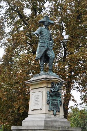 Monument des Preußenkönigs Friedrich II.